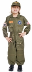 Child's Deluxe Air Force Pilot Costume