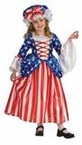Child's Deluxe Betsy Ross Costume