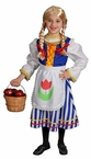 Child's Deluxe Dutch Girl Costume