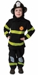 Child's Deluxe Fire Fighter Costume