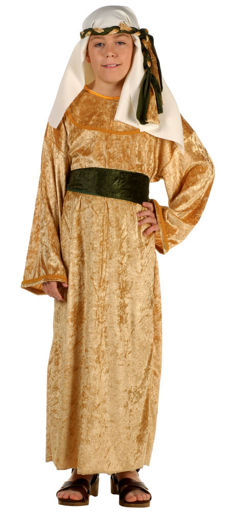 Child's Deluxe Gold Wiseman Costume - Candy Apple Costumes