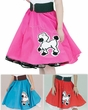Child's Deluxe Poodle Skirt