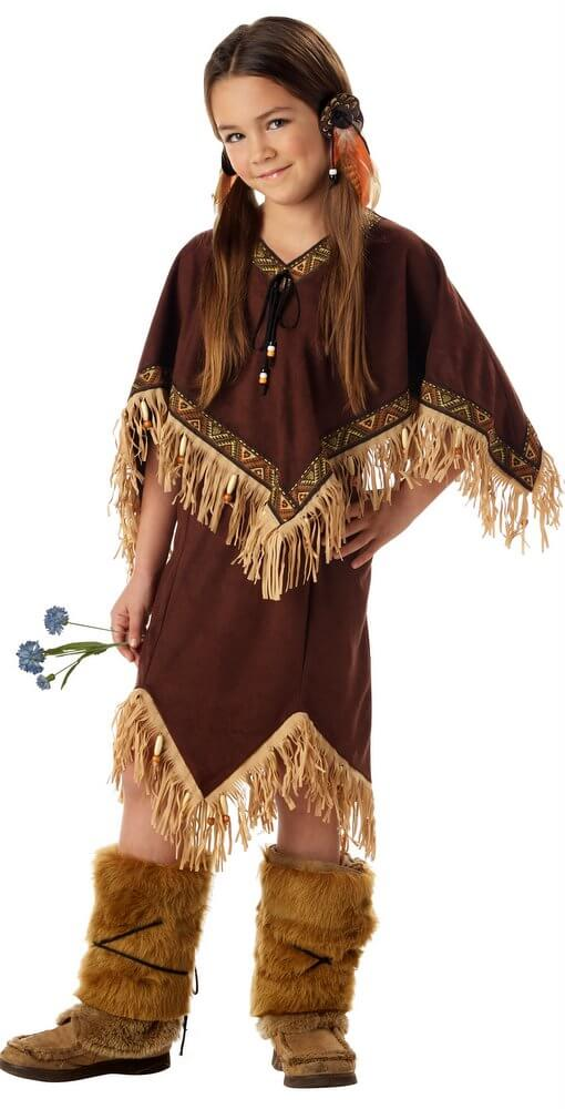 Childu0027s Deluxe Princess Wildflower Native American Costume  sc 1 st  Candy Apple Costumes & Childu0027s Deluxe Princess Wildflower Native American Costume - Candy ...