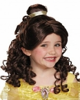 Child's Disney Belle Wig