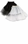 Child's Economy Petticoat - Black or White