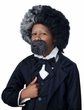 Child's Frederick Douglass Wig & Beard