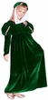 Child's Green Renaissance Princess Costume, Size Small