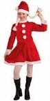 Child's Lil Miss Santa's Helper Costume