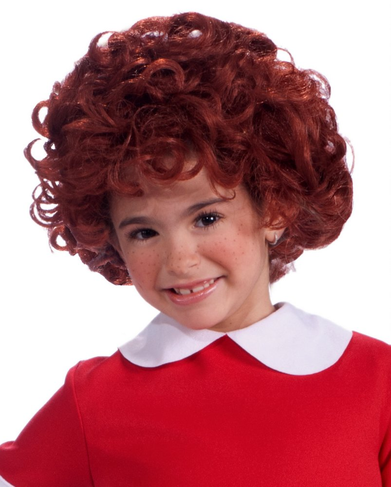 Childu0027s Little Orphan Annie Wig  sc 1 st  Candy Apple Costumes : annie costume toddler  - Germanpascual.Com