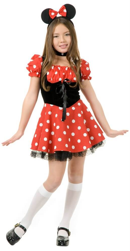 Childu0027s Miss Mouse Costume  sc 1 st  Candy Apple Costumes & Childu0027s Miss Mouse Costume - Candy Apple Costumes - Cartoon Characters
