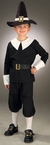 Child's Pilgrim Boy Costume
