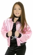 Child's 50's Pink Satin Jacket