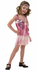 Child's Pink Sequin Flapper Costume
