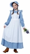 Child's Blue Pioneer Girl Costume