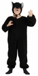 Child's Plush Black Cat Costume