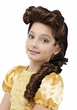 Child's Pretty Princess Brown Bella Wig