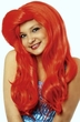 Child's Red Mermaid Wig