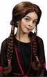 Child's Renaissance Girl Braided Wig