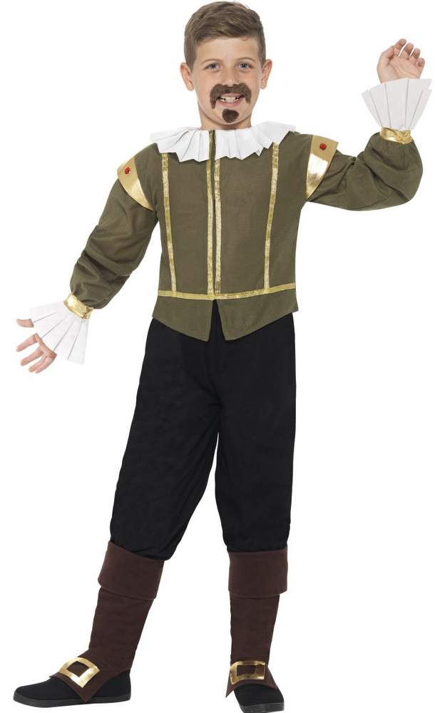 Childu0027s Shakespeare Costume  sc 1 st  Candy Apple Costumes & Childu0027s Shakespeare Costume - Candy Apple Costumes - Castles and ...