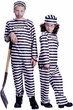 Child's Striped Jailbird Costume