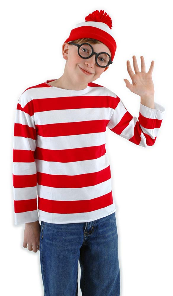Childs Wheres Waldo Costume Candy Apple Costumes Girls Costumes