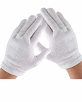 Child's White Cotton Gloves