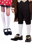 Child's White Knee High Stockings