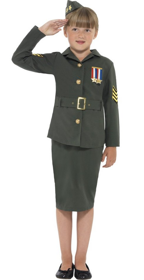Military uniform girl #10