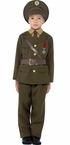 Child's 1940s Army Officer Costume - No Hat