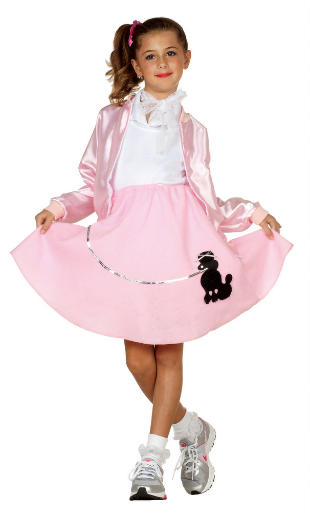 ... Child Size 50u0027s Pink Lady Jacket ...  sc 1 st  Candy Apple Costumes & Child Size 50u0027s Pink Lady Jacket - Candy Apple Costumes - 50u0027s Costumes