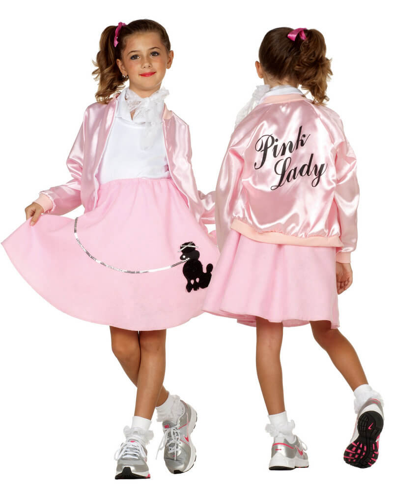 0616a336eb8 Child Size 50 s Pink Lady Jacket - Candy Apple Costumes - 50 s ...