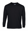 Child Size Black Long Sleeve Tee Shirt