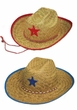 Child Size Straw Cowboy Hat