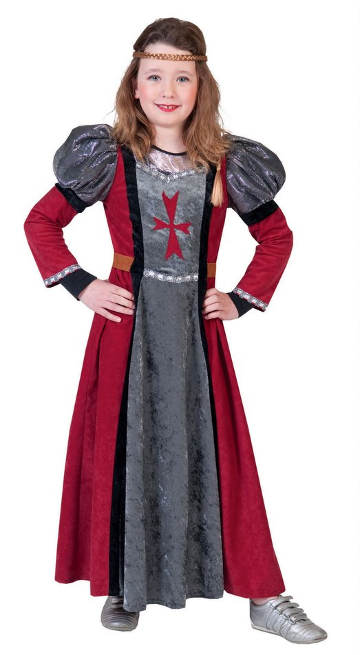 Child Size Lady Rouge Medieval Costume  sc 1 st  Candy Apple Costumes & Lady Rouge Medieval Costume Kids - Candy Apple Costumes