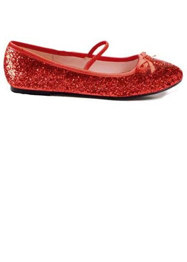Child Size Red Glitter Ballet Flat Shoes - Candy Apple Costumes - Doctor  and Nurse Costumes 48d6d13b0f