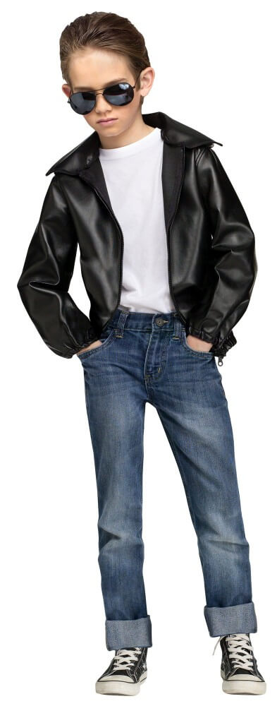 Child Size T-Birds Gang Greaser Costume Size Large  sc 1 st  Candy Apple Costumes & T-Birds Gang u002750s Costume Kids - CandyAppleCostumes