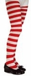 Children's Red/White Striped Tights