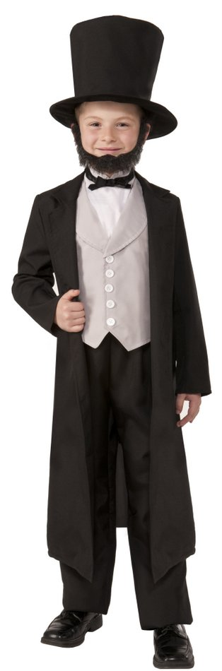 child s abraham lincoln costume president s day costumes deluxe costumes