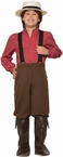 Child's Pioneer Boy Costume