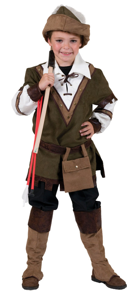 Childu0027s Deluxe Robin Hood Costume  sc 1 st  Candy Apple Costumes & Childu0027s Robin Hood Costume - Medieval Costumes - Castles and Thrones ...