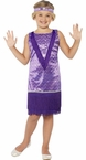 Child's Tallulah Flapper Girl Costume