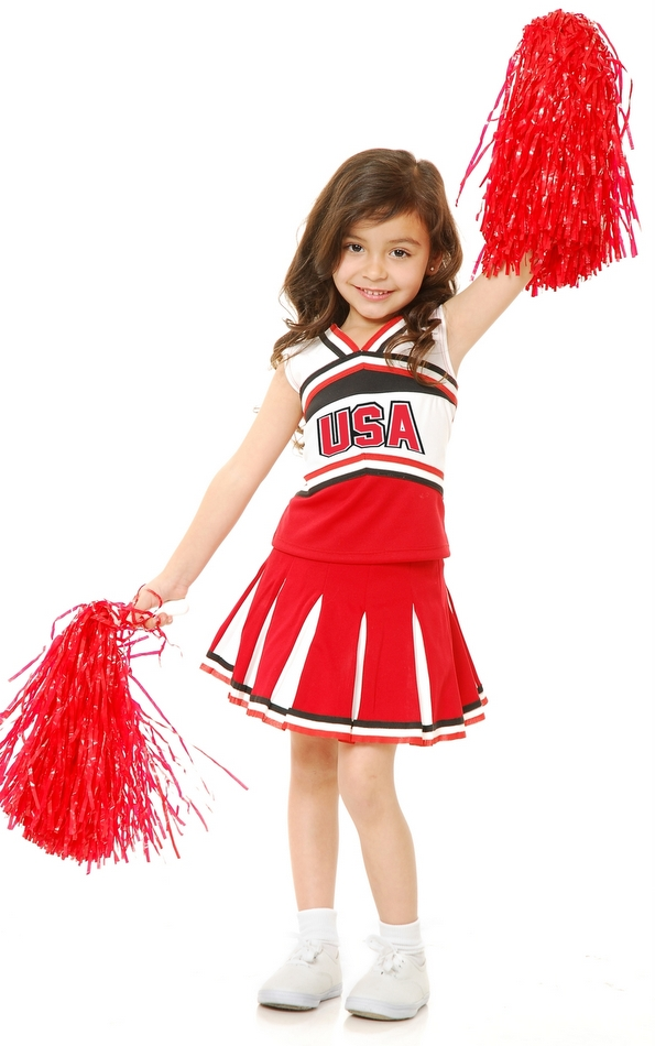 Childu0027s USA Cheerleader Costume  sc 1 st  Candy Apple Costumes & Childu0027s USA Cheerleader Costume - Girlsu0027 Costumes - Sports ...