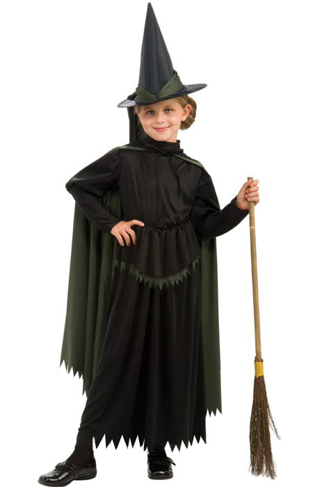 Child's Wicked Witch Costume - The Wizard of Oz - Candy Apple ...