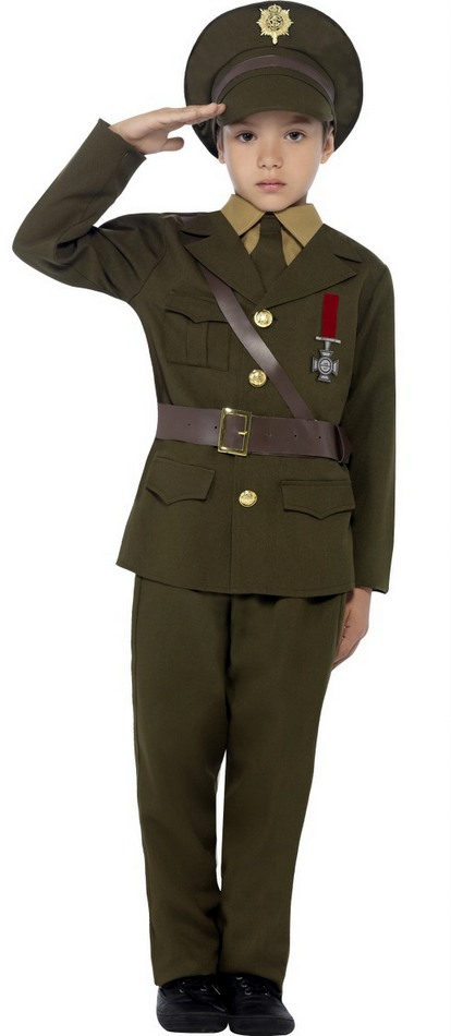 Childu0027s 1940s Army Officer Costume  sc 1 st  Candy Apple Costumes & Childu0027s WWII Army Officer Costume - 1940s Costumes - Heroes in History
