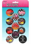 Classic 50's Buttons Set of 10