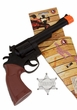 Cowboy Toy Pistol and Badge