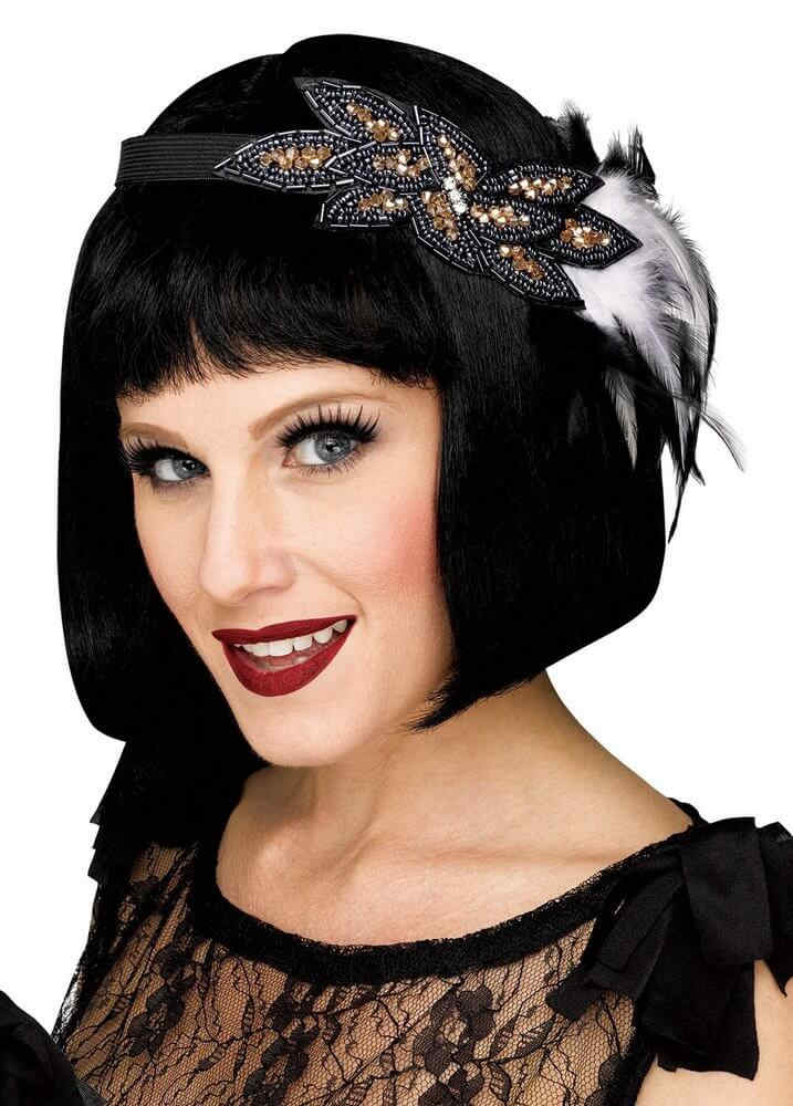 Deluxe 1920 s Beaded Flapper Headband - Candy Apple Costumes - 20 s Costumes 26c5d22104d