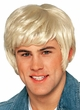 Deluxe 70's Dude Blonde Wig With Sideburns