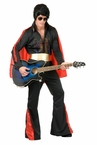 Deluxe Adult Black Rhinestone Rock Star Costume