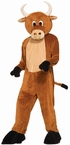 Deluxe Adult Brutus the Bull Mascot Costume